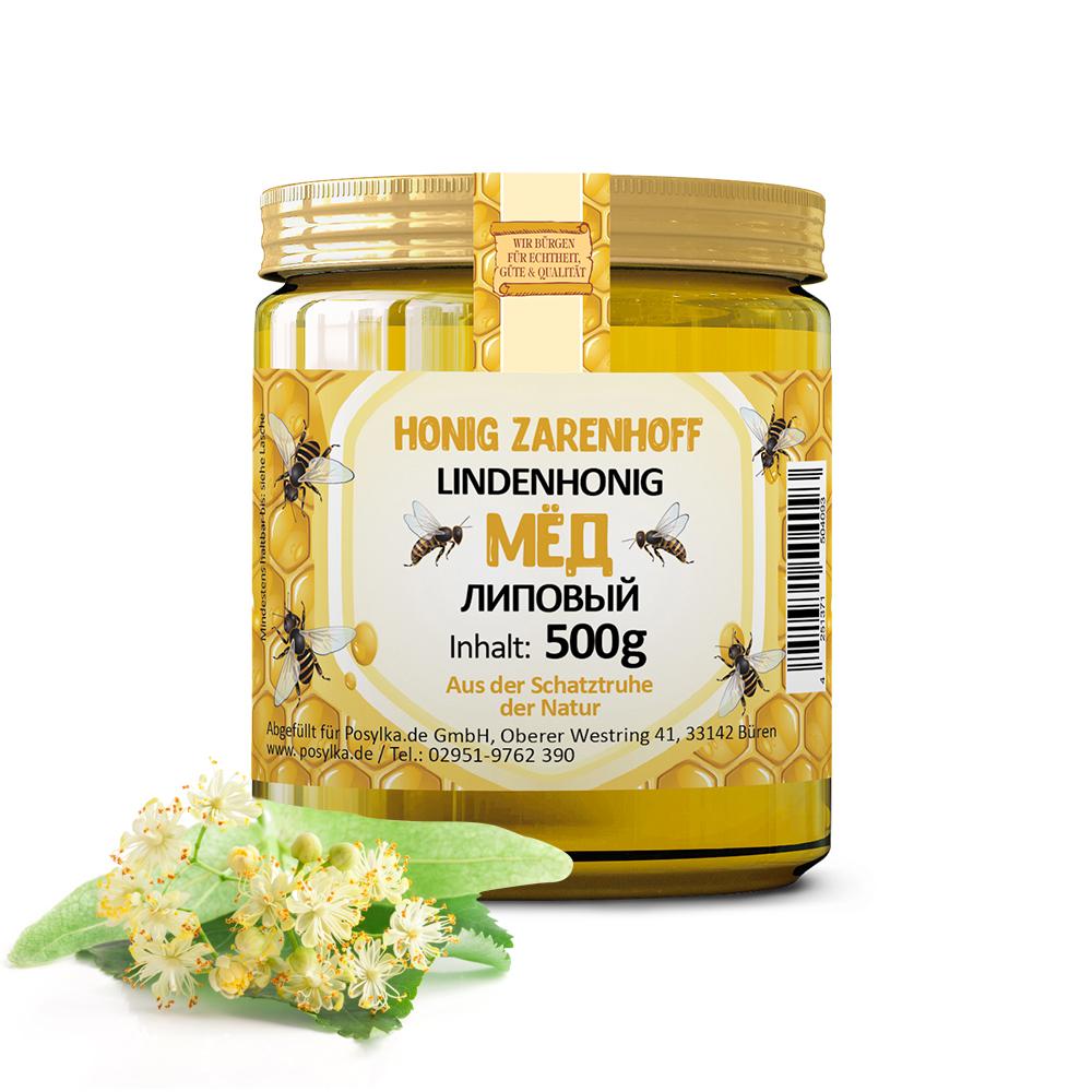 Lindenhonig flüssig, 500 g