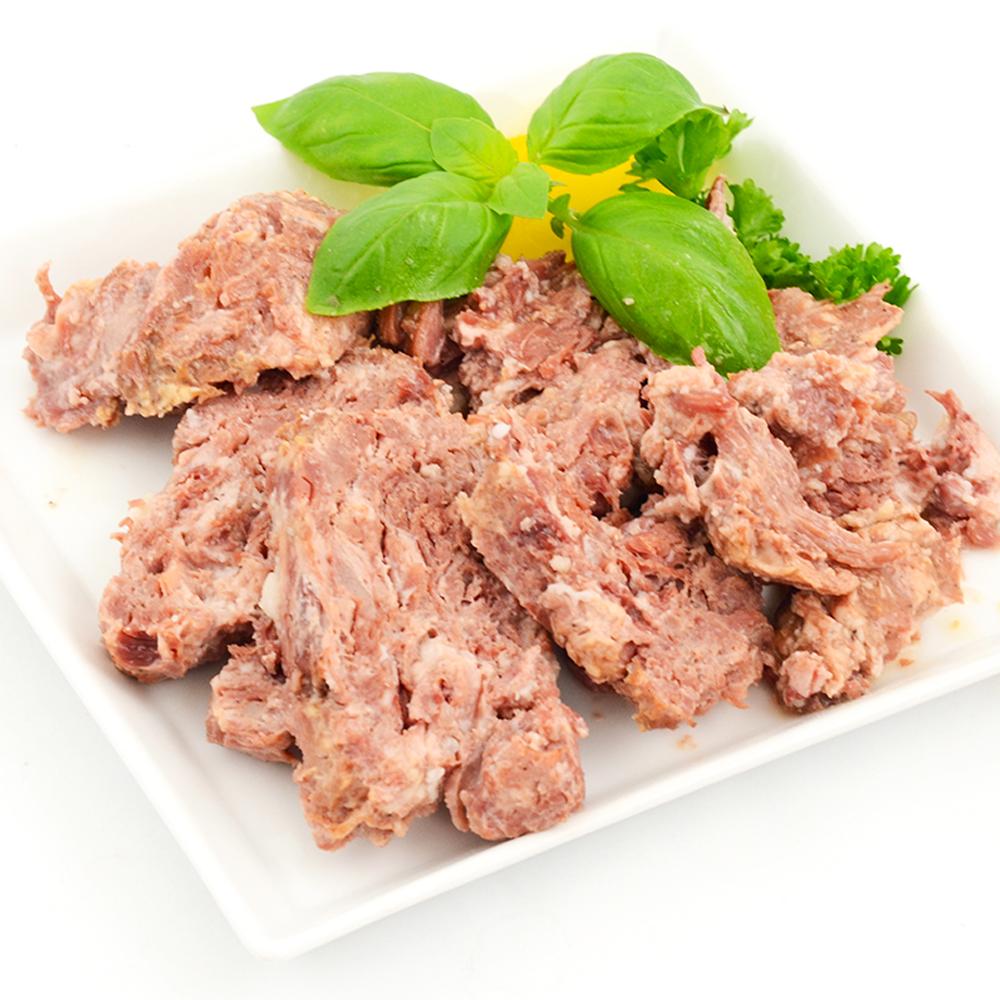 Eingelegtes Fleisch, Schwein, 525 g